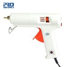 PROSTOEMER EU plug термоплавкий клеевой пистолет 120 Вт 100-220 градусов регулируемая температура клеевой пистолет тепловой Gluegun ремонтные тепловые инструменты