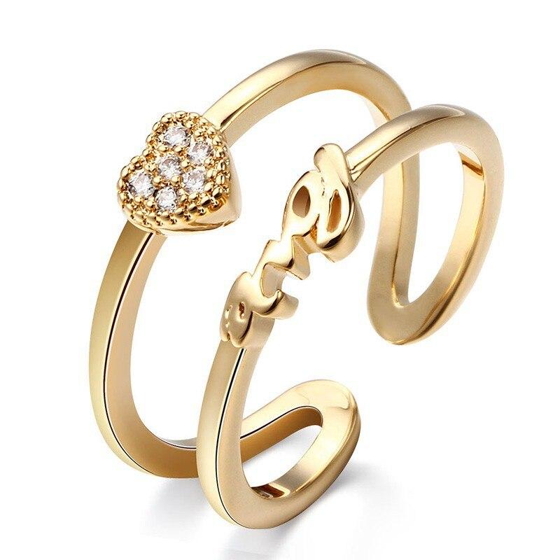Trendy Dollar Ring Dorado 5