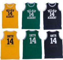 1d96b7a4e Classic dream Basketball T-shirts Will Smith  14 Bel Air Academy Basketball  Jerseys(