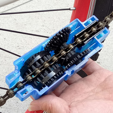 Bicycle chain cleaners 360 degree no dead angle professional MTB road bike fold protector washer bicycle maintenance