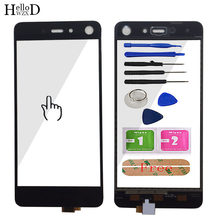 5.2'' Mobile Touch Screen Touch Panel For Infinix S2 Pro TouchScreen Front Glass Digitizer Panel Tools Adhesive(China)