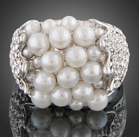 2236 Elegant and Pearl Designed Women's Fashion Jewelry Finish Ring