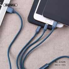 Remax 3 in 1 USB data Cable type C Fast Charging for iPhone 6 6S Samsung S8 S9 Plus xiaomi mini 8 Huawei p20 lite Sony