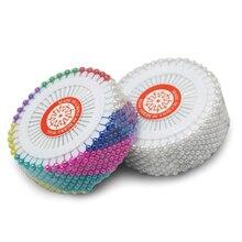 40 шт/480 шт круглые жемчужные булавки для шитья Свадебный корсаж флористы швейные булавки смешанные цвета аксессуары