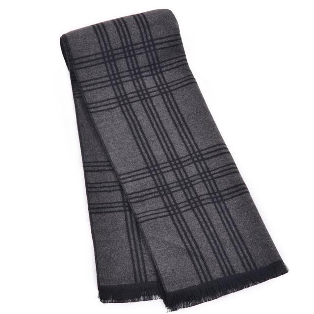 Зима полосатые шарфы мужчины платки Люксовый бренд одеяло индии шарф écharpe платки wrap конструктора мужчины бизнес бандана кисти