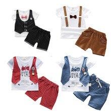 Kids clothes boys Summer Children Girls Cotton Clothes T-Shirt Shorts 2pcs/Sets Toddler Fashion Clothing Sets Baby Tracksuits