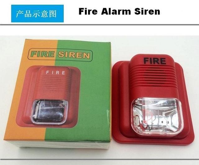 Licht Alarm Auto : Cj ss109 24 v feueralarmsirene strob sirene für brandmeldeanlage mit