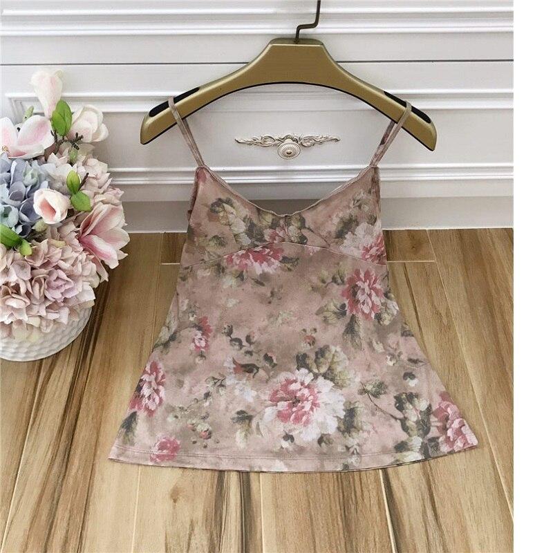 Mujeres Primavera Tops Encaje Calidad Alta Marca Volantes Impresión La Con 2019 Flor Mujer Collar Moda Blusas Vintage Camisa De q8gA0xA