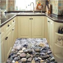 AsyPets кухня ванная комната каменный пол стикер стены Искусство Фреска украшение дома настенный орнамент-25