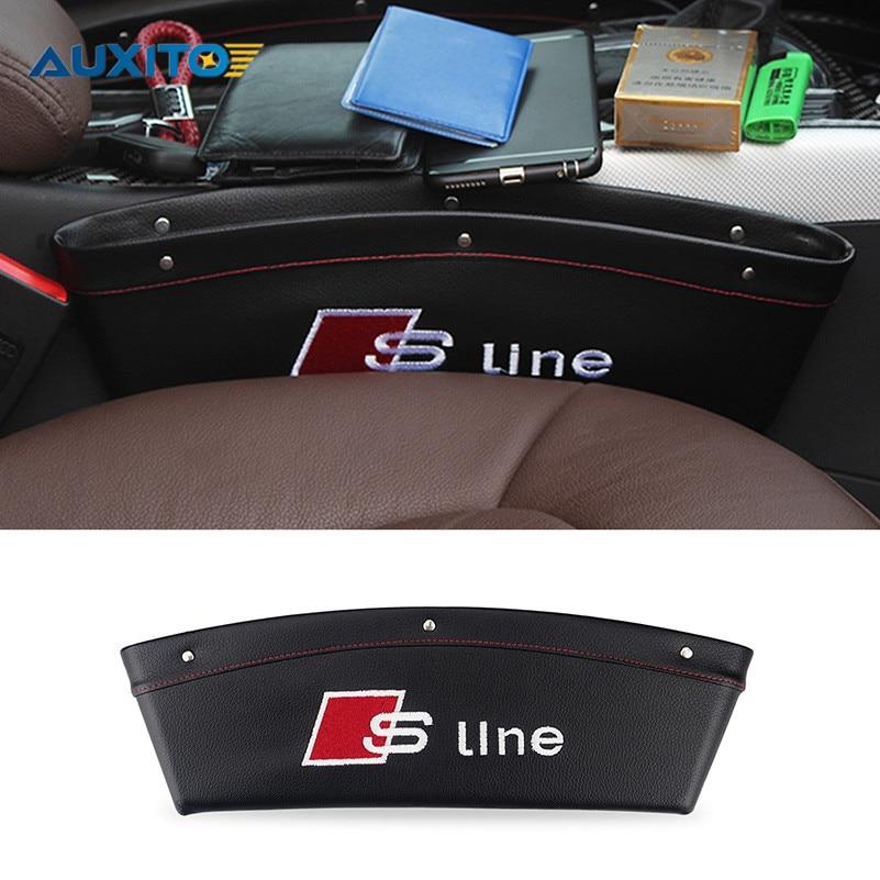 For Audi A3 A4 B6 B8 B7 A6 C5 80 A5 Q7 TT Q5 A1 Q3 100 A8 A7 A2 R8 S3 S4 RS 8P 8L S line Car Seat Gap Pad Spacer Fillers Packet 3d car stickers for audi a3 a4 b5 b6 b8 b7 a6 c5 c6 80 a5 tt q7 q5 a1 q3 8p 8l 8v 100 a8 a7 a2 s3 s4 s5 s line badge car sticker