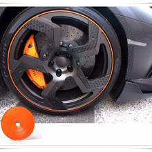 8m Car Styling Wheel Hub Tire Stickers For BMW F52 E82 F46 F