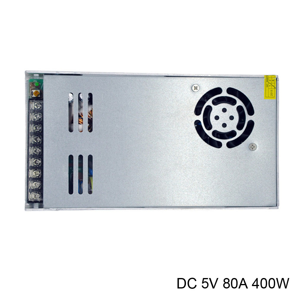 DC 5V voltage inverter power supply 400W 220V to 5V 60A 70A 80A ultra thin 3cm high switching power for Led Strip Lights l 250 12 250w 12v ultra thin constant voltage ac to dc power supply for led lights