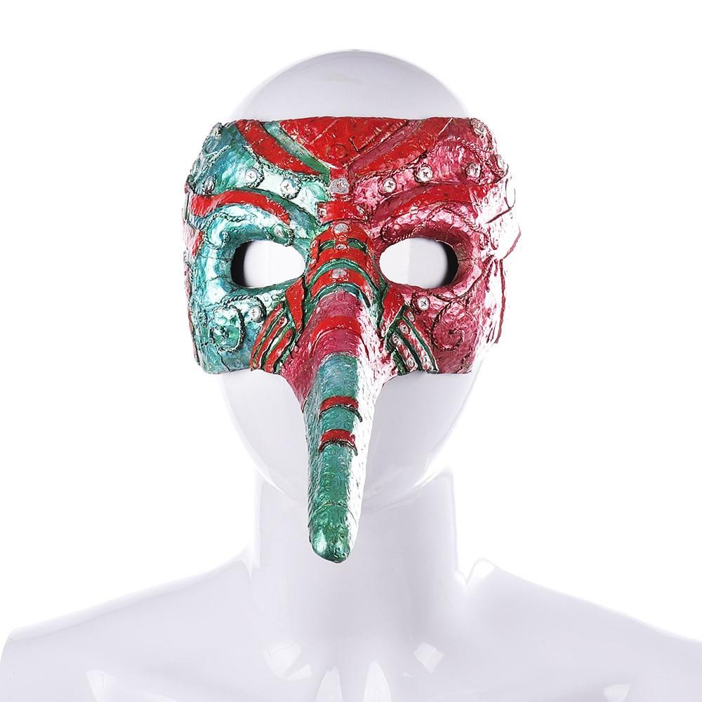 cosplay Halloween Carnival Festival Anime Steampunk Cosplay Masquerade Half Face Mascara Plague Doctor Toucan Mask