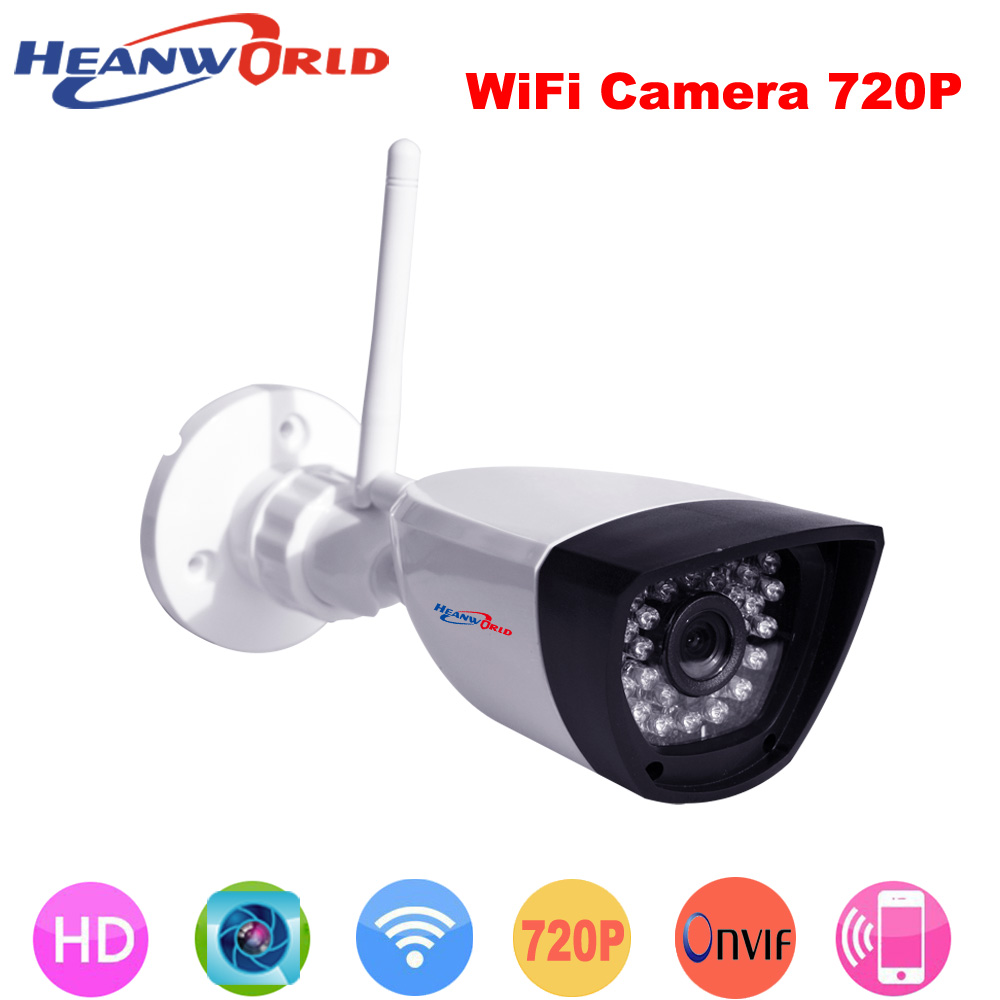 Megapixel 720P Wireless Wired IP Camera Wifi IR Night Vision ONVIF Home Surveillance Video Security Camera CCTV Network IP Cam