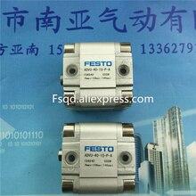 ADVU-40-15-A-P-A festo тонкий цилиндр воздуха Пневмоинструмент воздуха компонент advu серии