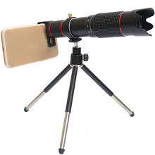 Universal Cell Phone Camera Lens,36 Times Mobile Telephoto Telescope Head,for most smart mobile phone