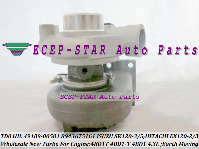 TD04HL-15G 49189-00501 8943675161 Turbo For ISUZU Earth Moving SK120-3 SK120-5 SK120 For Hitachi EX120-2 EX120-3 4BD1T 4BD1-T 4BD1 4.3L (2)