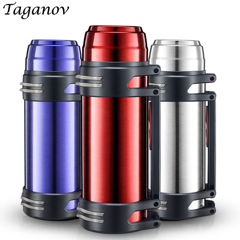 2 L 2 5 L Stainless Steel Outdoor sports kettle Bottle Insulation Traveling bpa free Water