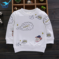 M&F Cute Children Coats 2016 Autumn Cotton Kids Cartoon Baby Girls and Boys Clothing Soft Long Sleeve Tees Outerwear