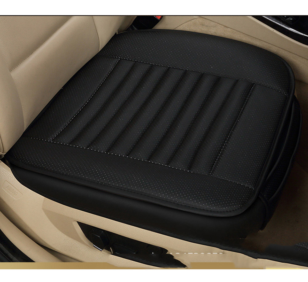 DEDC Car Seat Cover Styling Four Seasons Leather Breathable Car Interior Seat cover Pad Seat Cushion Car Front Back Seat Cover