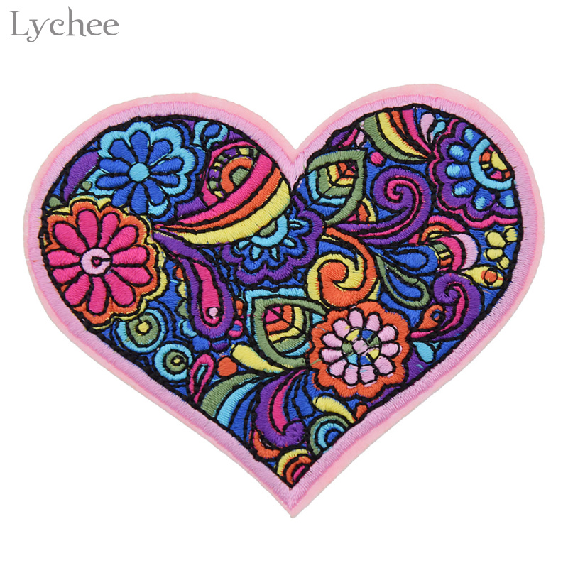 Diy Handmade Embroidered Patch: Aliexpress.com : Buy Lychee Floral Pattern Embroidered