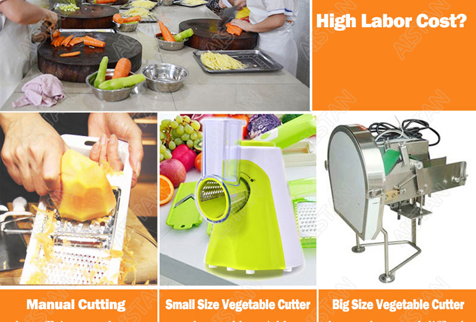QC205 electric multi-purpose vegetable fruit cheese cutter dicing, cubing, slicing, stripped, grater slicer or shredded machine 6