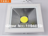 Hot Sale High Quality 15W COB Led Panel Light Square Glass LED Ceiling Lamp LED Spotlight