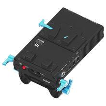 FOTGA DP500III V-Mount непрерывный встроенный 90 градусов Род Зажим Питание BP Батарея пластина замка DSLR Rig видеокамеры