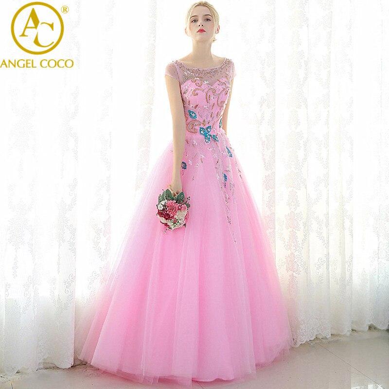 Magnífico Diseñadores De Vestidos De Baile Populares Imágenes ...
