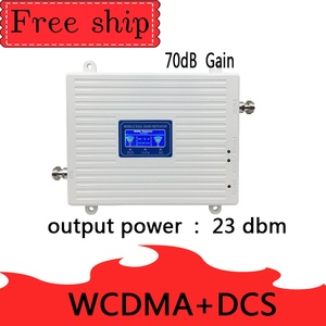Image 2 - TFX BOOSTE WCDMA 2100 LTE 1800 3G 4G komórkowy Dual Band regenerator sygnału 23dBm 70dB 4G LTE komórkowej wzmacniacz wzmacniacz 3G 4G antena