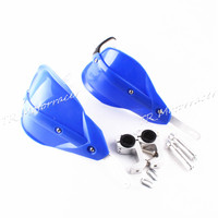 For 7 8 Universal Handlebar Motorcycle Brush Bar Hand Guards Protector A Pair Motor Accessories Blue