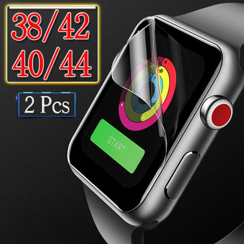 Cover For i Watch 4 3 2 1 Protective Film 38mm 42mm 40mm 44mm On The 38 40 42 44 mm Soft Screen Protector Protection (Not Glass)