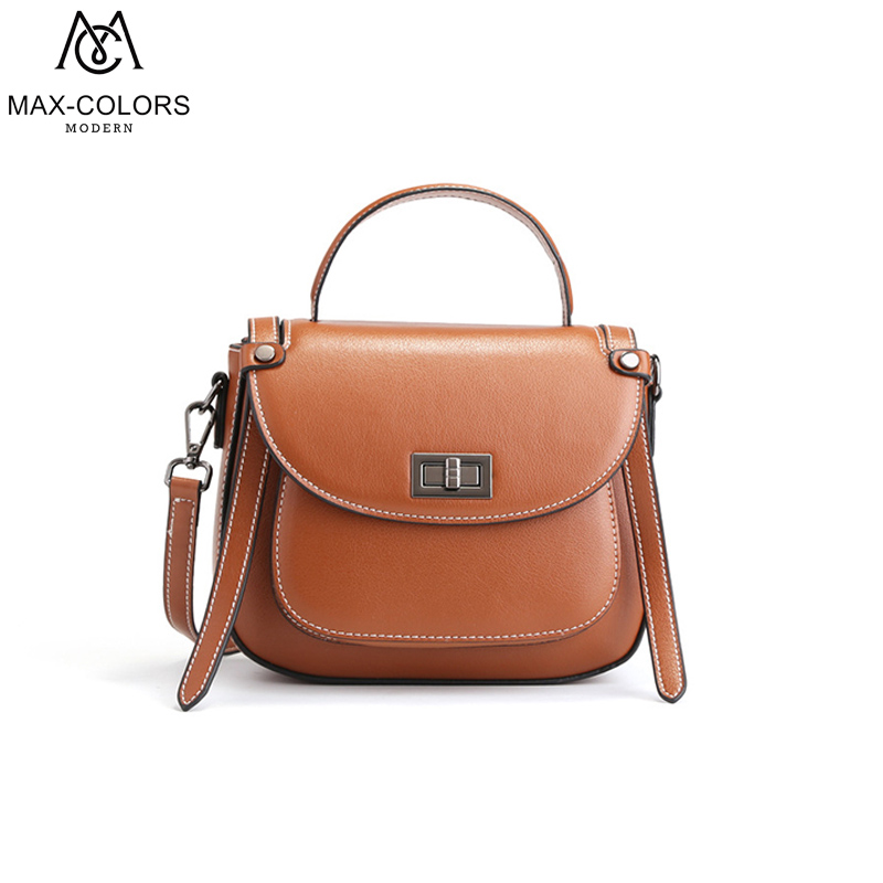 MC genuine Leather Fashion Purse Flap Handbag Female Casual Tote Lady designer bags famous brand women bags for Women Gift our reality 1 amasie genuine alligator leather vintage fashion lady women handbag brand designer woman casual tote egt0206