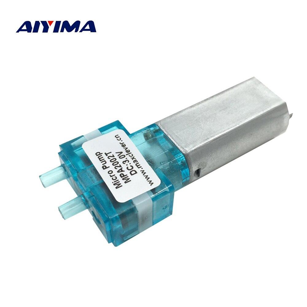 Analytisch Aiyima Dc6v Micro Vakuum Membran Pumpe Stille Mini Pinsel Für Medizinische Tank Sowohl Gas Und Flüssigkeit Medizinische Elektronik Pumpen Novel Design; In