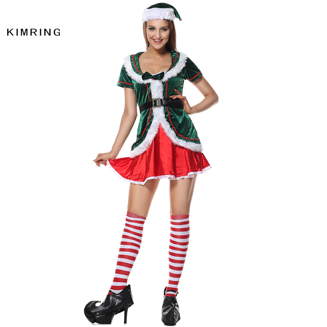 Kimring Deluxe Santa Claus Baby Christmas Costume Cosplay Sexy Red Christmas Costumes Christmas Fancy Dress Adult  sc 1 st  AliExpress.com & Kimring Deluxe Santa Claus Baby Christmas Costume Cosplay Sexy Red ...