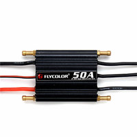 Flycolor 50A 70A 90A 120A 150A Boat ESC 2 6s Water Proof For RC Boats With