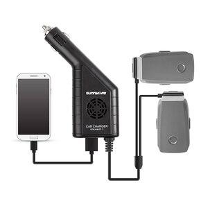 Image 3 - DC 12 16 v 3 Port Auto Ladegerät Batterie & USB Port Fernbedienung Lade Für DJI mavic 2 zoom/pro Drone Zubehör