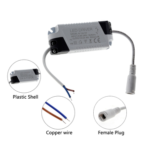 Image 4 - LED 드라이버 1 3W 4 7W 8 12W 18 25W 25 36W AC85 265V 조명 변압기 LED 패널 조명/통/스포트 라이트 드라이버.