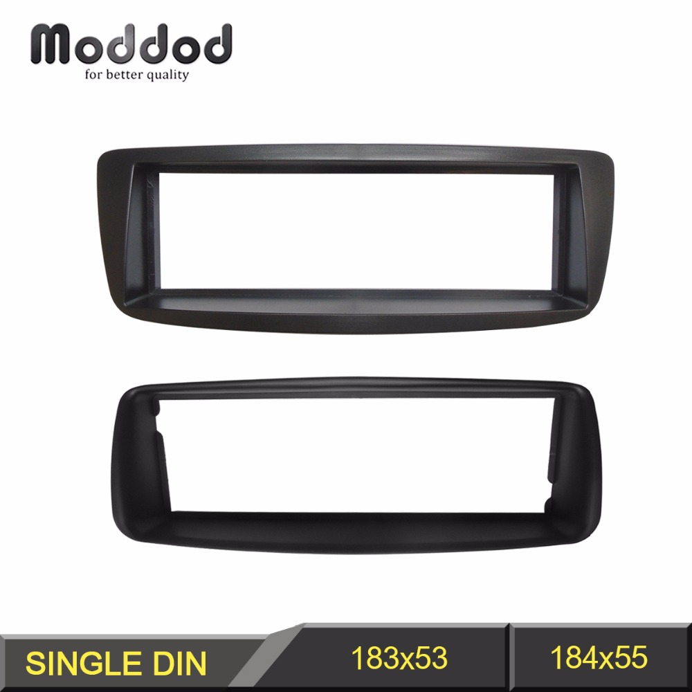 1 Din Radio Fascia for Citroen C1 Toyota Aygo Peugeot 107 DVD Stereo Panel Dash Mount Installation Trim Kit Frame Plate image