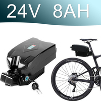 24V 8AH Lithium ion Battery fro g typ Rear Battery Pack 24V Electric bicycle 24v E bike battery 24v Li ion battery