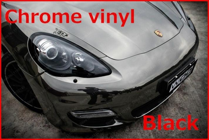 Image 4 - Carcardo Chrome Vinyl Film Chrome Car Wrap Chrome Car Vinyl Warp Car Sticker With Bubble Free Auto Sticker Car Accessories-in Car Stickers from Automobiles & Motorcycles