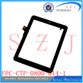 "Original ""pulgadas 8 Prestigio MultiPad 8.0 2 PMP5780D PRIME DUO FPC-CTP-0800-014-1 pantalla táctil de cristal digitalizador 198*150mm Sensor"