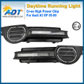 LED Car Daytime Running Light 12V 12W Cr ee High power 6000K Xenon White Headlights DRL Daylight Kit for Audi A3 8P 05-08
