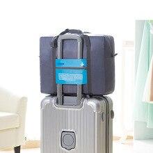New Style 2018 Fashion Travel Bag Large Capacity Women Canvas Folding Bags Women Luggage Waterproof Travel Handbags