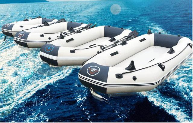 2016 New Crown Wave Dinghies Hard Bottom Inflatable Boat Fishing