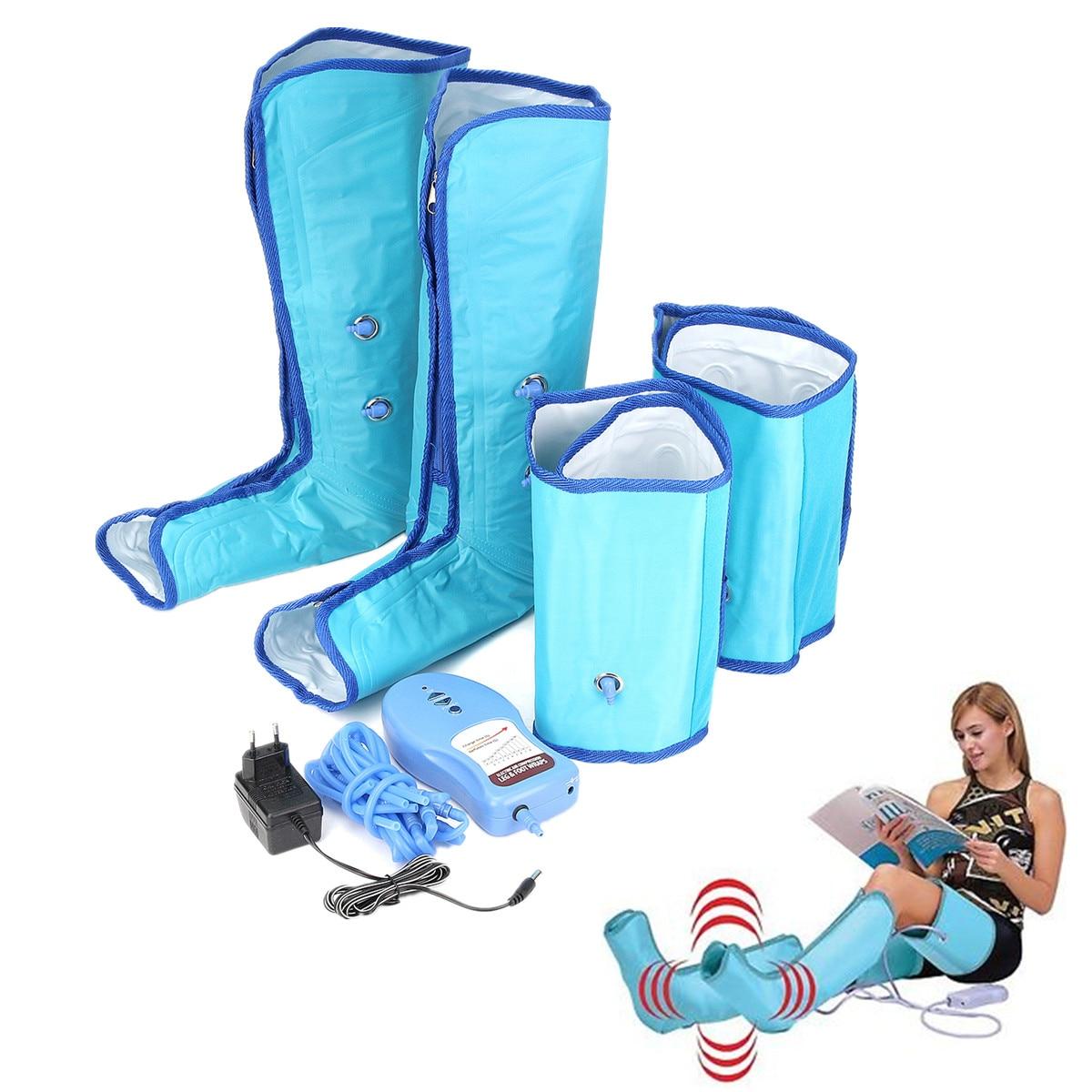 Пневмоподставка давление массаж терапия здравоохранения давление циркуляции манжеты ног обёрточная бумага бедра Релаксация успокаивает ...