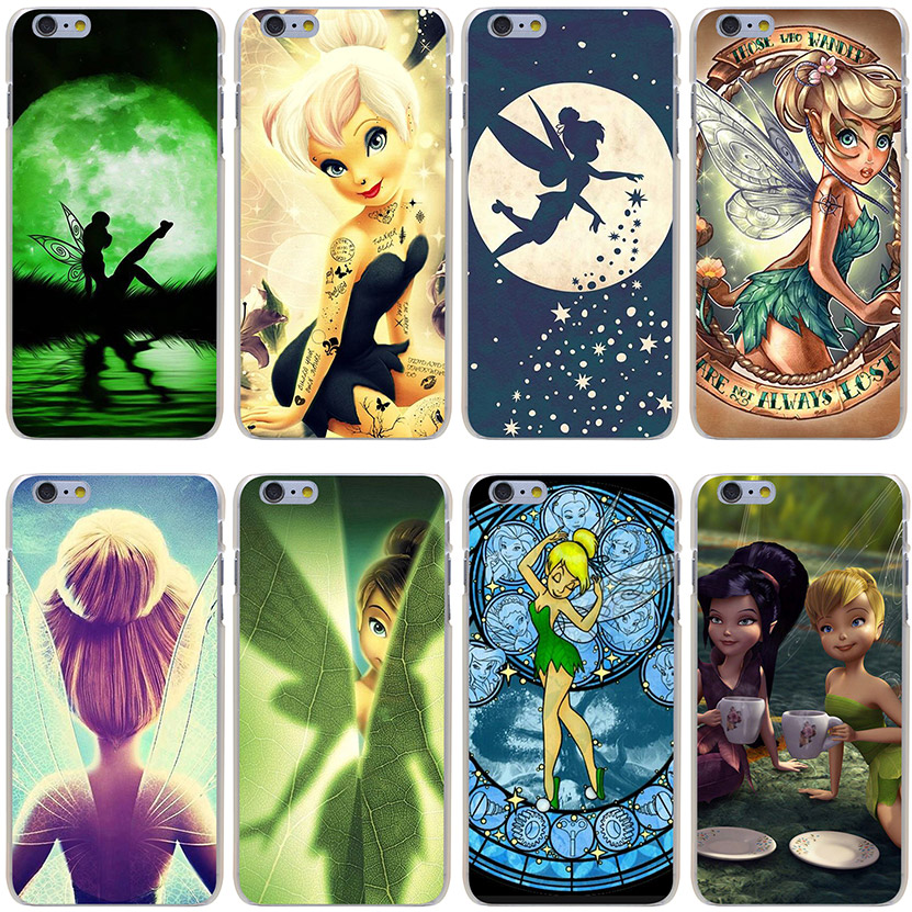 Tinkerbell Hard Transparent Cover Case for iPhone 7 7 Plus 6 6S Plus 5 5S SE 5C 4 4S