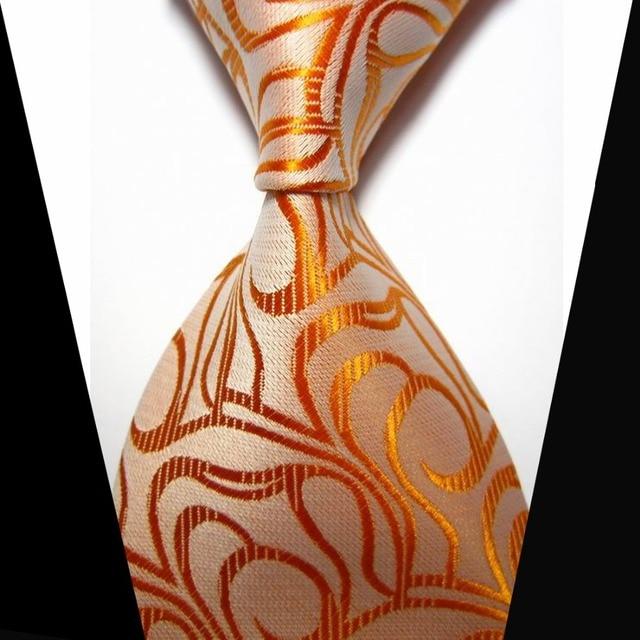 Paisley Jacquard Clic Men Necktie Fashion Silk Tie Formal Business Wedding Ties For New