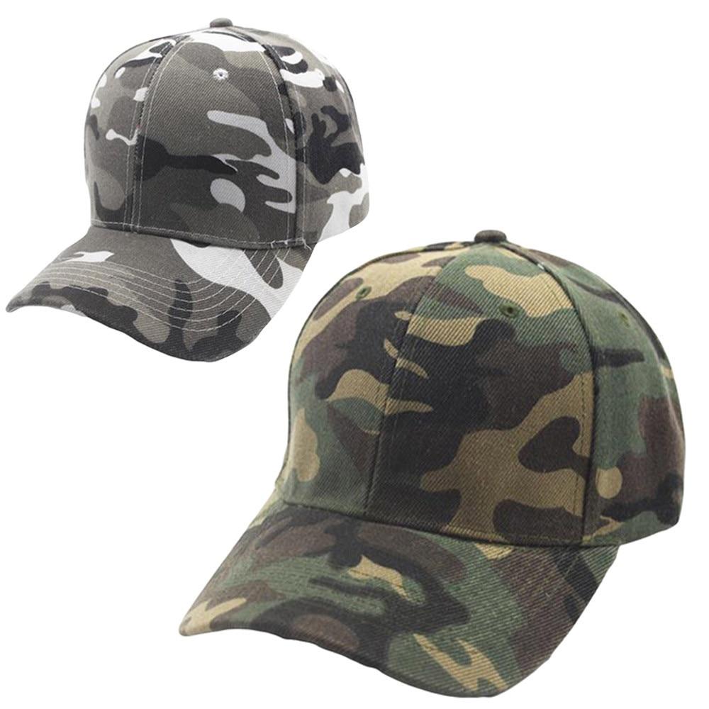 CHAMSGEND New 2018 Summer Fashion Unisex Camouflage Baseball Cap Snapback  Hat Hip-Hop Adjustable Hat ea8e1b0f81bb