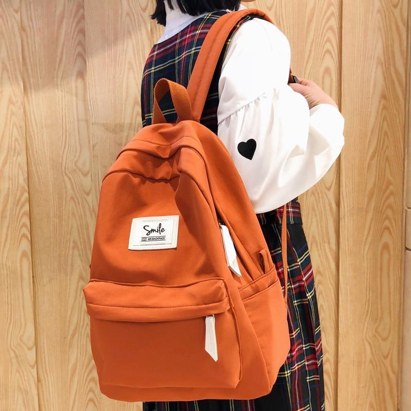 DCIMOR High Quality Waterproof Nylon Women Backpack Female Fashion Leisure School Bag For Teenage Girls Travel Backpack Mochila